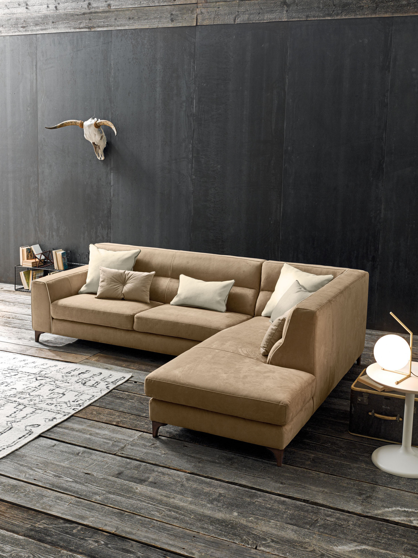 Sofas In Leather Sibilla LeComfort