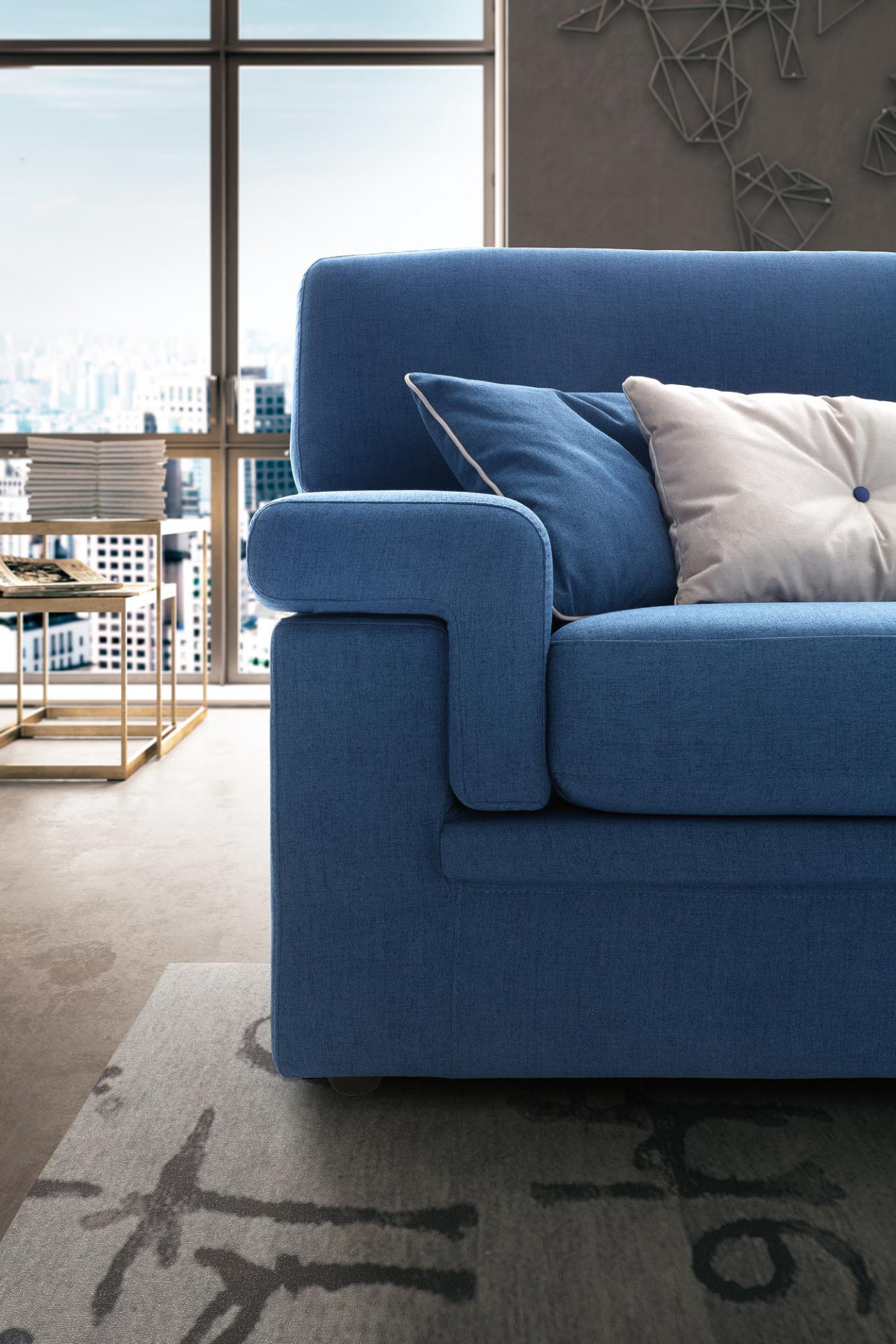Sofas In Fabric City LeComfort