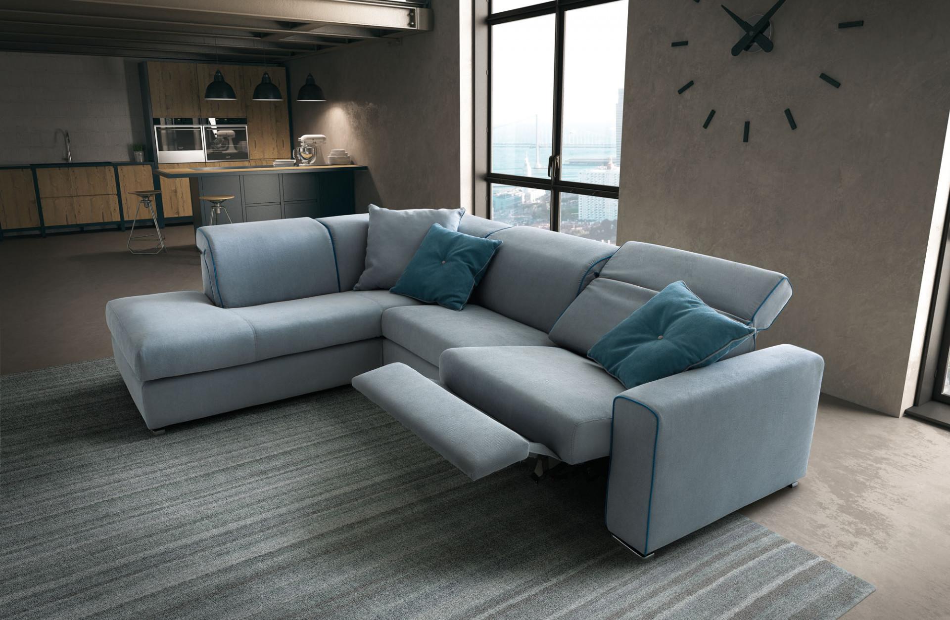 Divani in tessuto drive lecomfort for Divani e divani divani letto