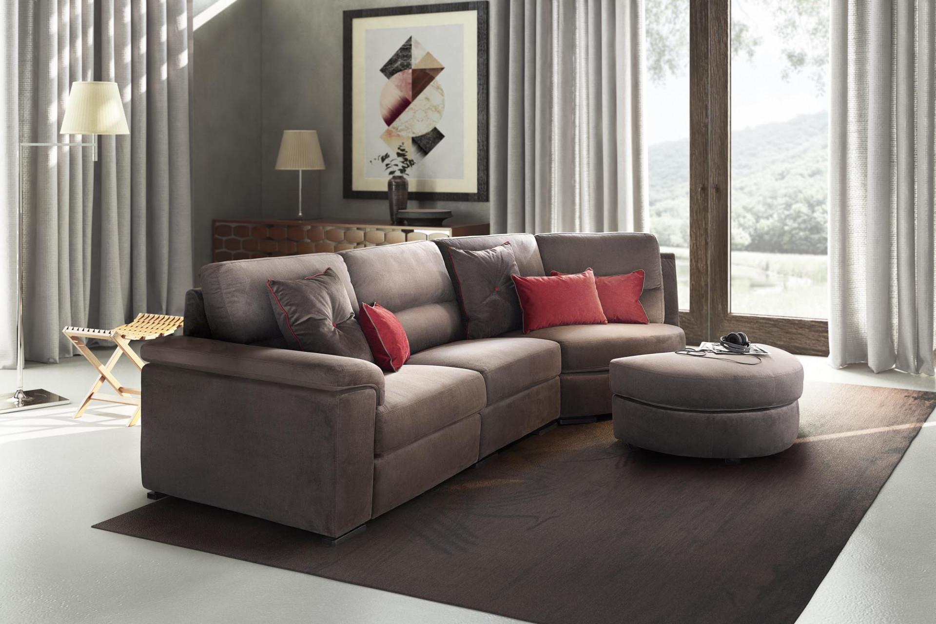 Sofas In Fabric Edmond LeComfort
