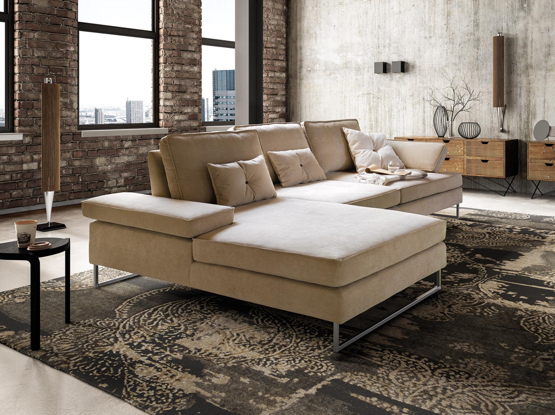 Sofas In Fabric Luis LeComfort