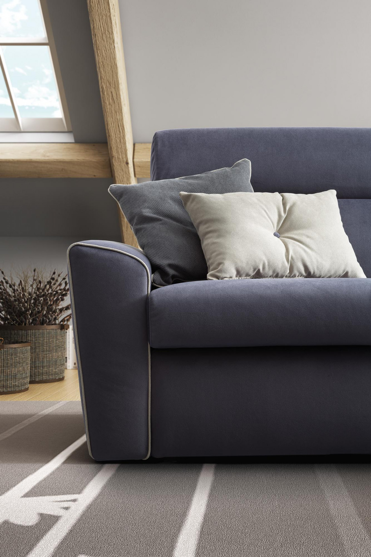Sofas In Fabric Teddy LeComfort