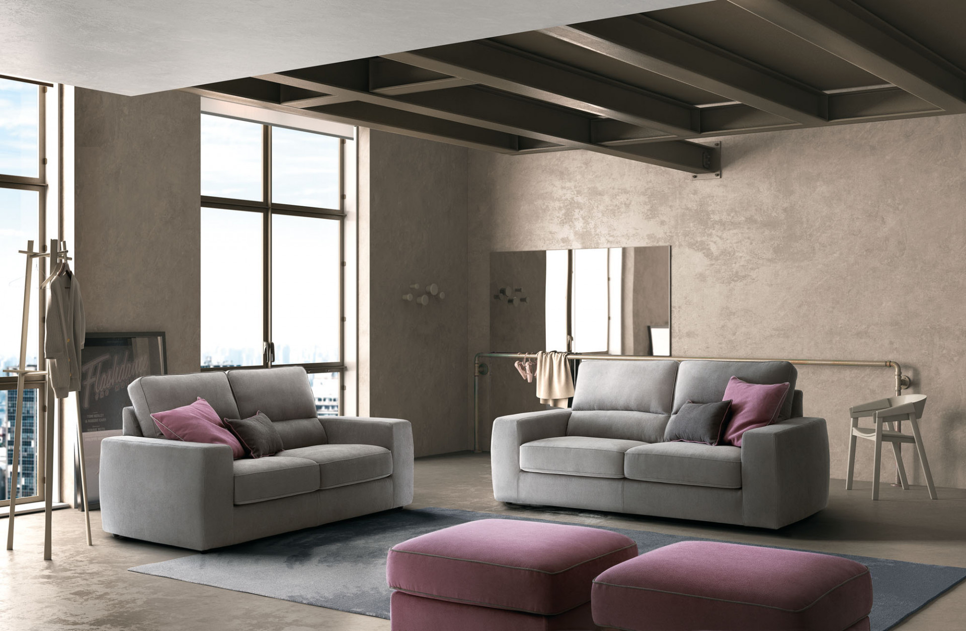 Sofas In Fabric Tommy LeComfort