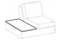 Sofas Abby Covered tray