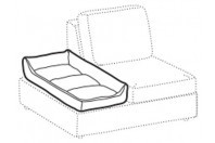 Sofas Abby Maxi pet bed