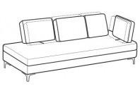 Sofas Luis Lateral angular element maxi
