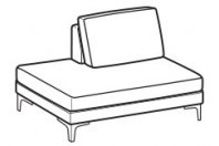 Sofas Spencer Terminal element