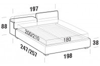 Beds Apollo Maxi double bed with STRONG bed frame