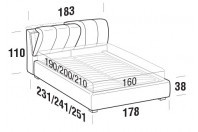 Beds Inside Double bed with STRONG bed frame