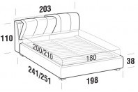 Beds Inside Maxi double bed with STRONG bed frame