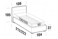 Beds Sir Single bed with FLOOR bed frame