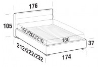 Beds Sir Double bed with FLOOR bed frame