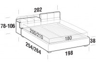 Beds Tower Maxi double bed with STRONG bed frame