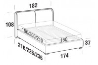 Beds Windsor Double bed with FLOOR bed frame