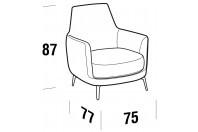 Complements Air AIR armchair