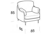 Complements Galen GALEN armchair