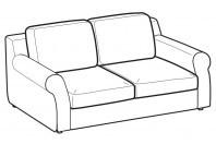 Sofas Abby 2-er sofa