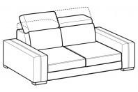 Sofas Astor 2-er sofa