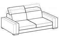 Sofas Astor 3-er sofa