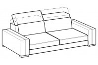 Sofas Astor 3-er maxi sofa