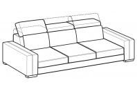 Sofas Astor 4-er sofa