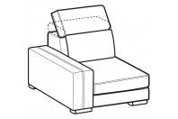 Sofas Astor 1-er lateral element