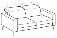 Sofas Christopher 3-er sofa