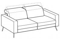 Sofas Christopher 3-er maxi sofa