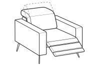 Sofas Christopher Relax armchair