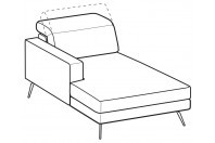 Sofas Christopher Chaise longue
