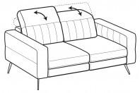 Sofas Egon 2-er sofa