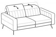 Sofas Egon 3-er sofa