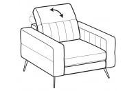 Sofas Egon Armchair