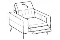 Sofas Egon Relax armchair