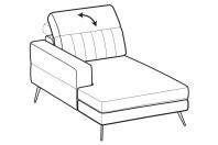 Sofas Egon Chaise longue