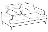 Sofas Emmet 3-er sofa