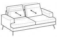 Sofas Emmet 3-er maxi sofa