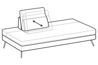 Sofas Emmet Angular side element