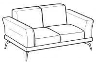 Sofas Estate 2-er sofa