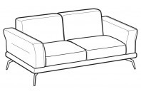 Sofas Estate 2-er maxi sofa