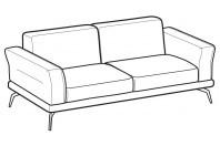 Sofas Estate 3-er sofa