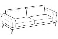 Sofas Estate 3-er maxi sofa
