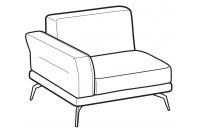 Sofas Estate 1-er lateral element