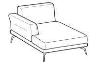 Sofas Estate Chaise longue
