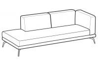 Sofas Estate Angular side element