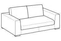 Sofas Forest 2-er sofa