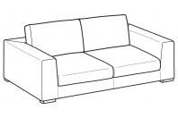 Sofas Forest 3-er sofa