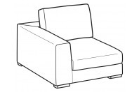 Sofas Forest 1-er small lateral element