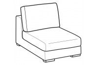 Sofas Forest 1-er small central element