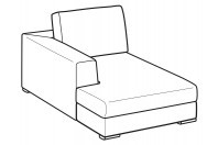 Sofas Forest Chaise Longue